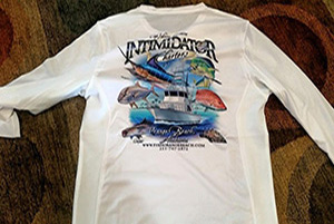 Intimidator Deep Sea Fishing Charter T'shirts - On Sale Now!