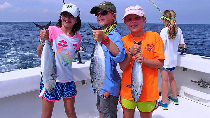 4 hour trip info for Best time to go deep sea fishing in the gulf