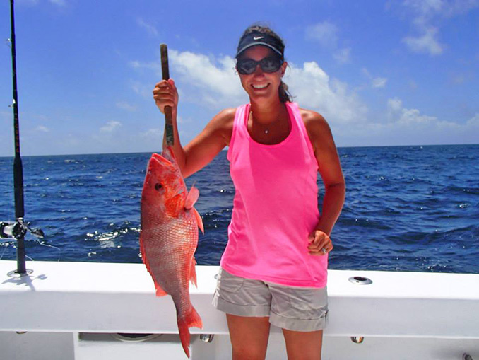 The Six-hour deep sea fishing trip is the most popular of all. This saltwater fishing charter is fun for all ages and skill levels.