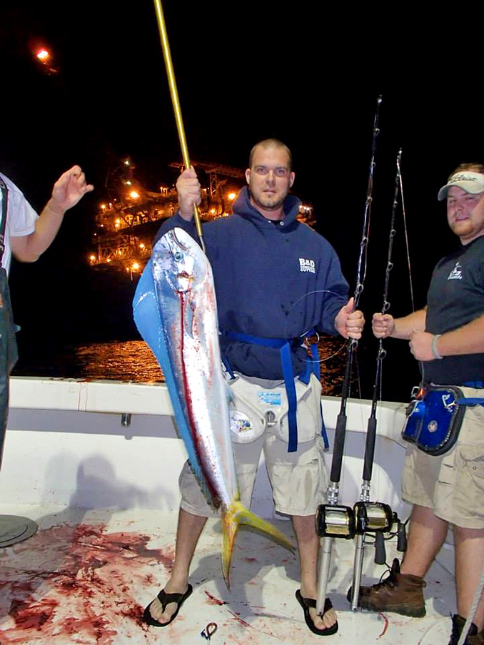 Over-Night deep sea fishing trips near the Rigs... there is nothing else like it.