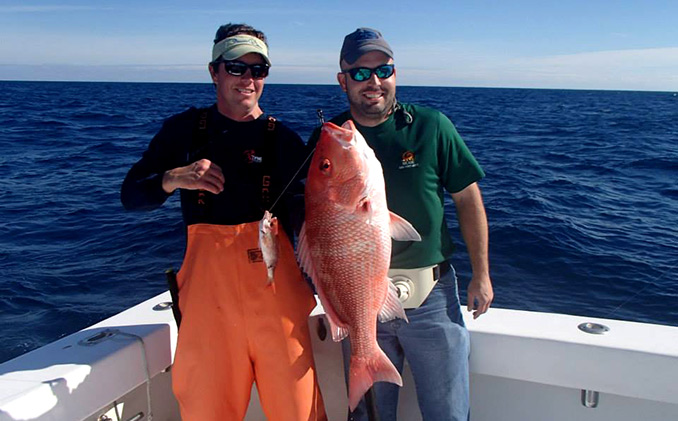 We are having Snapper tonight baby! Woohoo!